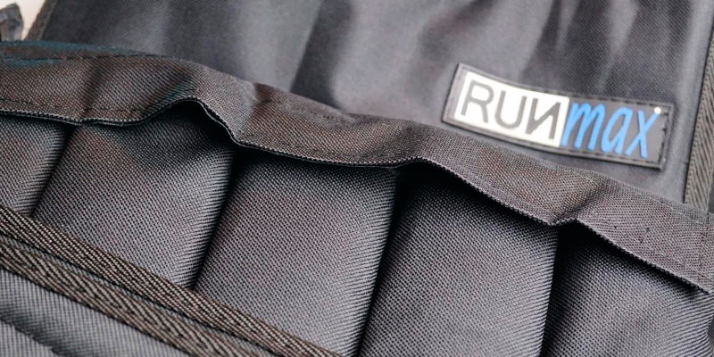 RUNFast Adjustable Weighted Vest in the use