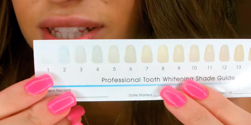 WhiteLabs 885136950180 Home Professional Teeth Whitening Kit in the use
