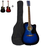 Jameson Guitars 979 BLUE CSE Acoustic Electric Guitar