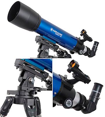 Review of Meade Infinity 102 AZ Refractor Telescope