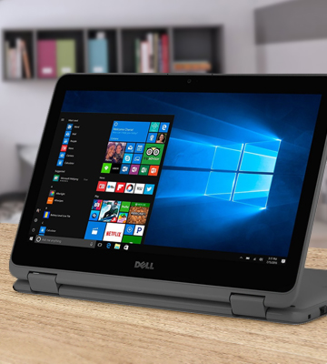Review of Dell Inspiron 11.6 2-in-1 Convertible HD Touchscreen Laptop - Intel Quad-Core Pentium N3710 1.6GHz, 4GB RAM, 500GB HDD