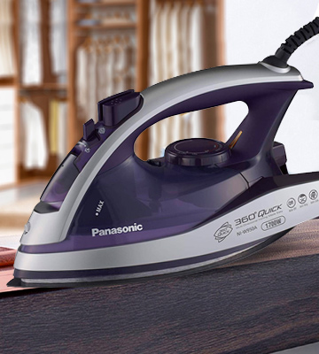 Review of Panasonic Dry and Steam Iron with Alumite Soleplate, Fabric Temperature Dial and Safety Auto Shut Off