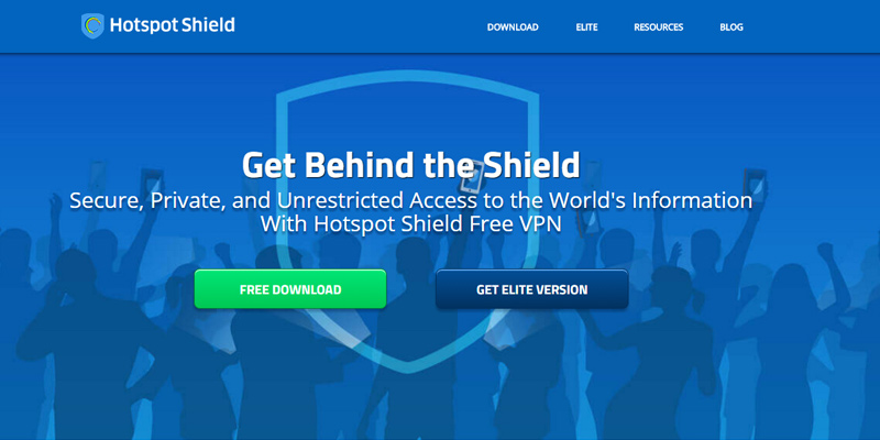Hotspot Shield VPN application