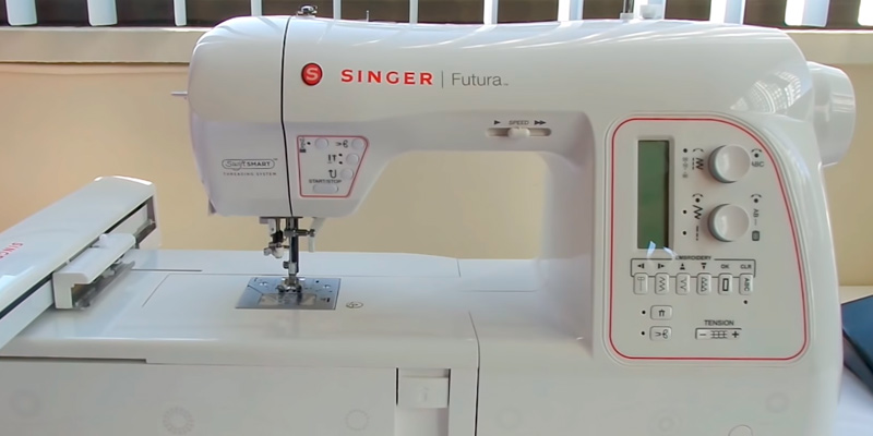 Review of SINGER Futura XL-580 Embroidery and Sewing Machine