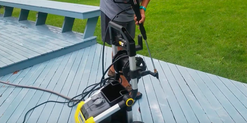 Karcher K2000 Electric Power Pressure Washer in the use