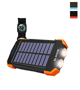 BLAVOR PN-W05 10000mAh Solar Charger with Qi Wireless