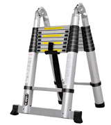 Luisladders Oshion Aluminum Telescoping Telescopic Extension Ladder