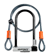 Kryptonite Kryptolok Standard w/4-foot Flex Cable