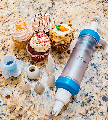 Review of KPKitchen Cupcake Decorating Kit