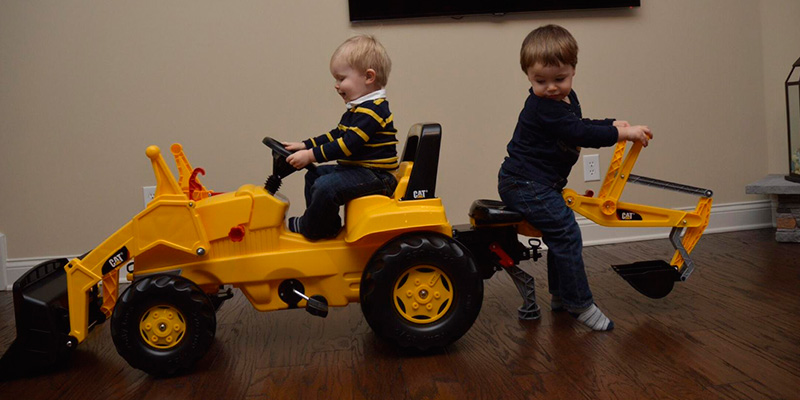 Review of Rolly toys CAT Construction Pedal Tractor