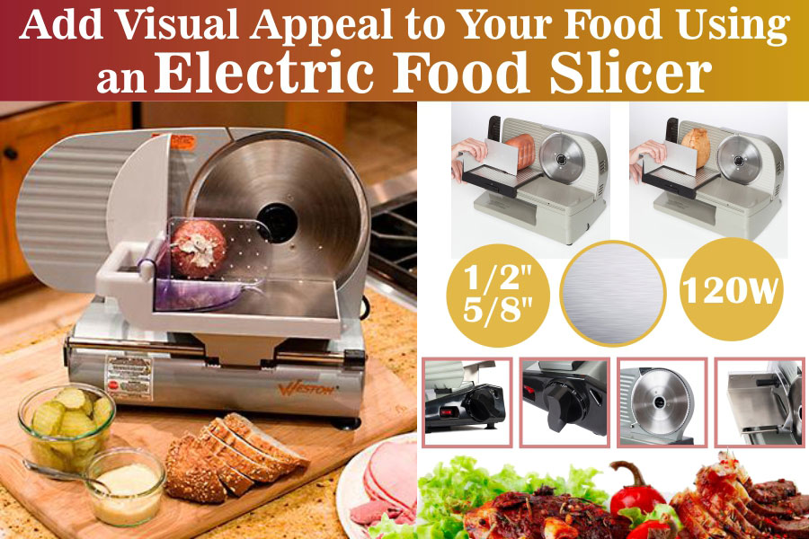 Comparison of Electric Food Slicers