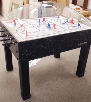 Review of Carrom Super Stick Hockey Table