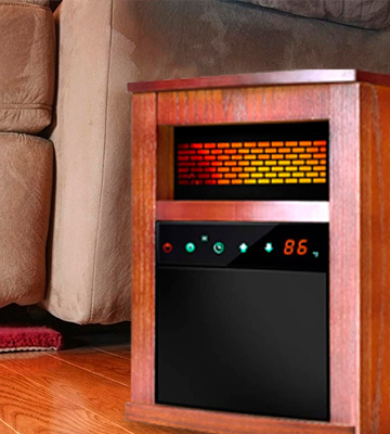 Review of Air Choice Portable Infrared Heater with Remote and Timer