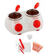 Good Cooking Electric Cheese/Chocolate Fondue Set