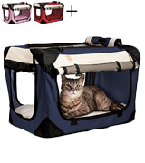 PetLuv DC-N Premium Soft Sided Cat Carrier & Travel Crate