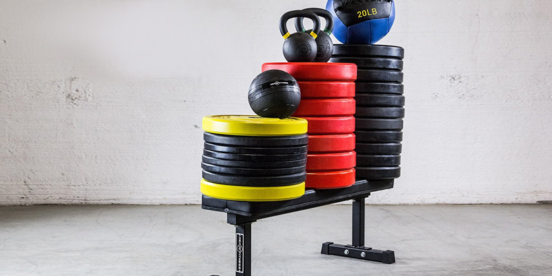 REP 1000 lb Rated Flat Weight Bench application