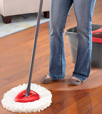 Review of O-Cedar EasyWring (153185) Microfiber Spin Mop