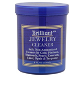 Brilliant 8 Oz with Cleaning Basket and Brush Jewelry Cleaner