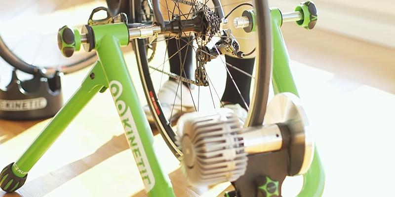 Kinetic Road Machine 2.0 Fluid Trainer in the use