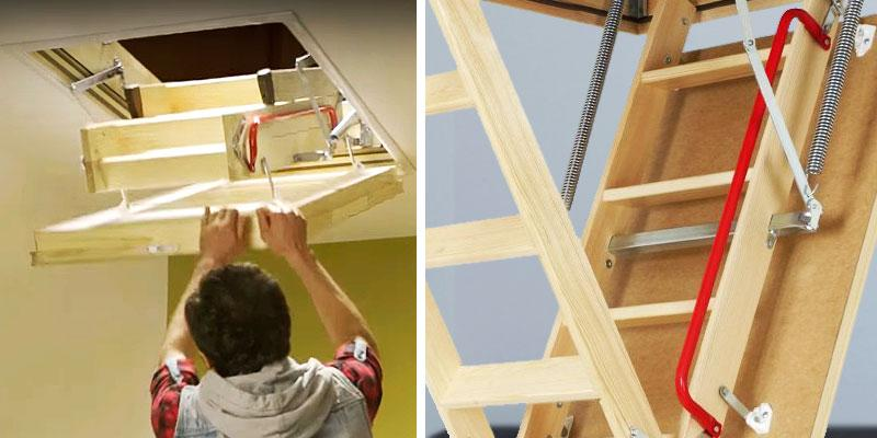 FAKRO 66809 Insulated Attic Ladder in the use