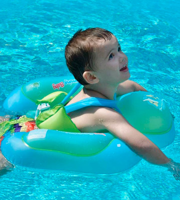 Review of Free Swimming Baby Waist Ring Inflatable Baby Swim Float