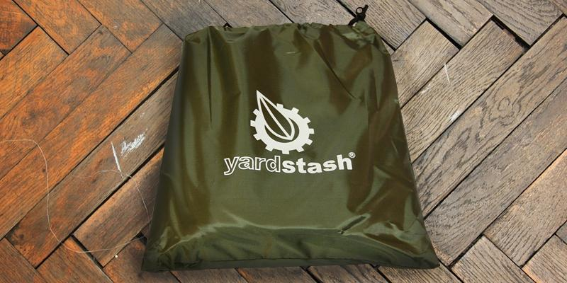 YardStash Bicycle Cover XL Extra Large in the use