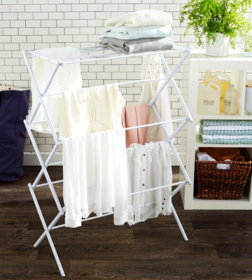Review of AmazonBasics Foldable Drying Rack