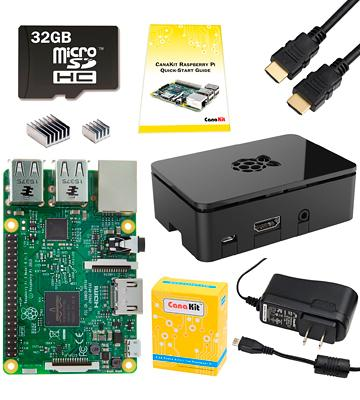 Review of Raspberry Pi 3 Model B Complete Starter Kit Desktop Barebone
