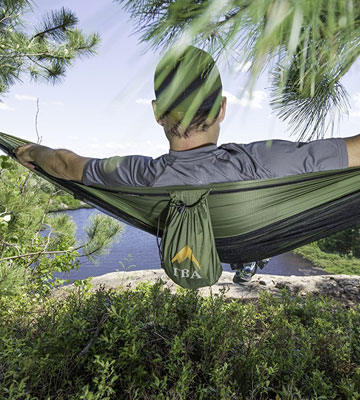 Review of TinyBigAdventure Camping Hammock With Mosquito Net