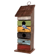 Carson 63282 Home Accents Vintage Tall Birdhouse