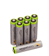 AmazonBasics Rechargeable AAA Batteries