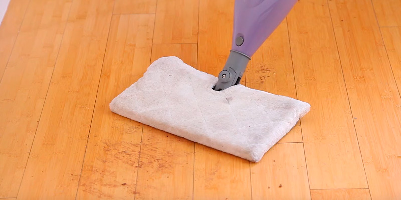 Shark S3501 Steam Pocket Mop Hard Floor Cleaner in the use