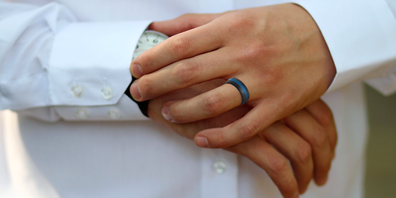 Review of ROQ Wedding Silicone Ring for Men