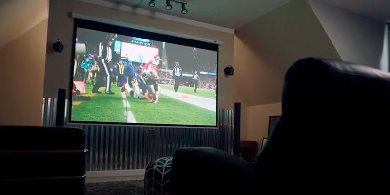 Review of Elite Screens ELECTRIC120V 120-inch Diag 4:3, Electric Motorized Projector Screen