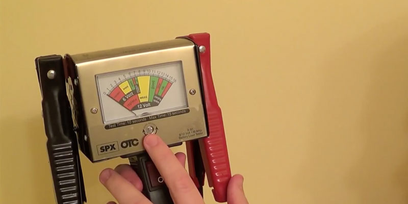 Detailed review of OTC 130 Amp Heavy-Duty Battery Load Tester