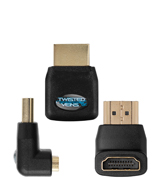 Twisted Veins FBA_ACHRA3 3 Pack of HDMI Connectors/Adapters