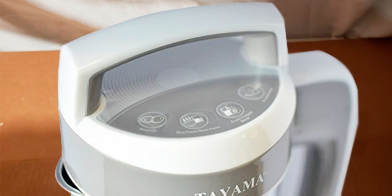 Detailed review of TAYAMA DJ-15C Steel Soymilk Maker