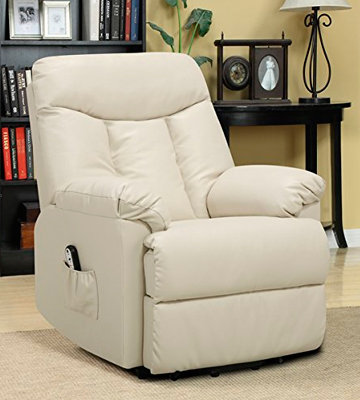 Review of ProLounge RCL9-DAB25 Renu Leather Power Recline and Lift Wall Hugger Chair