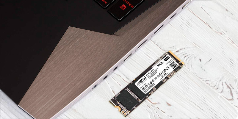 Crucial P1 NVMe PCIe M.2 2280 Internal SSD in the use