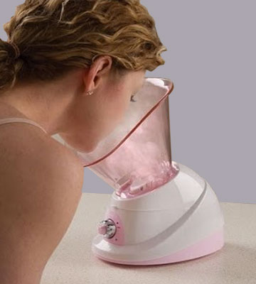 Review of Conair True Glow Moisturizing Mist Facial Sauna System