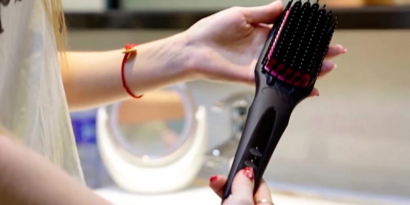Review of MiroPure 2 in 1 Ionic Hair Straightener Brush