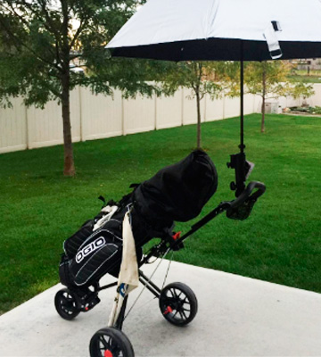 Review of CaddyTek SuperLite Golf Push Cart