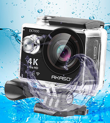 Review of AKASO EK7000 Sports Action Camera Ultra HD Waterproof DV Camcorder