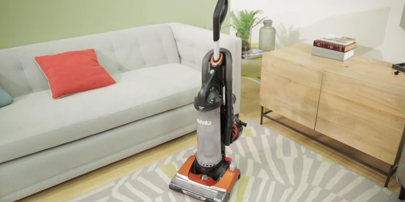 Review of Eureka AS3401AX Brushroll Clean Pet Upright Vacuum