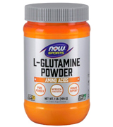 NOW Sports 1-Pound L-Glutamine Powder