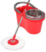 Hapinnex SYNCHKG098122 Spin Mop with Self-Balanced Bucket