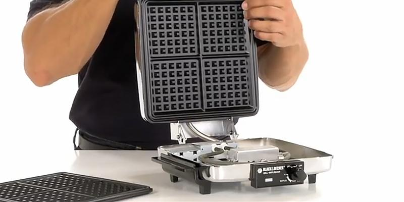 Detailed review of BLACK + DECKER 3-in-1 Waffle Maker