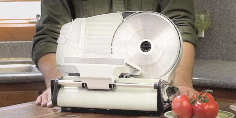 Weston Electric Food Slicer in the use