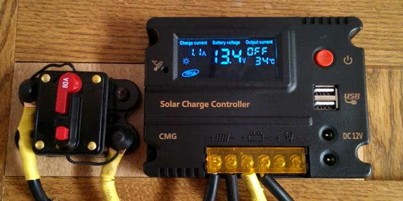 Review of Mohoo 20A 12V/24V Auto Switch Solar Charge Controller