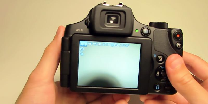 Canon PowerShot SX60 Digital Camera in the use